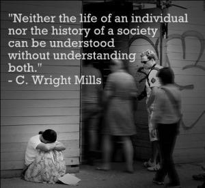 C Wright Mills